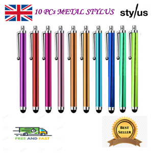 10x Pro Touch Screen Universal Metal Stylus Pen For All Mobile and Android Phone