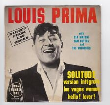 EP 45 TOURS LOUIS PRIMA SOLITUDE LOU 2004 NUMBER ONE direct from Las Vegas