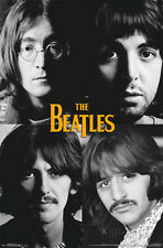 The Beatles - Grid Poster Print 22x34 Rock & Pop Music
