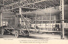 CPA AVION AVIATION LE MANS 1908 WILBUR WRIGHT aéroplane terminé