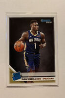 2019-20 Donruss #201 Zion Williamson Rated Rookie RC PELICANS