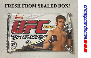2010 Topps UFC Series 4 Hobby Pack Auto Relic Parallel Kenny Florian Cover NEW