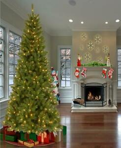 National Tree Company 7 FT Clear Lights Pre Lit Mixed Pine Christmas Tree
