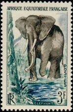 French Equatorial Africa -1957- African Elephant (Loxodonta africana) - Sc. #197