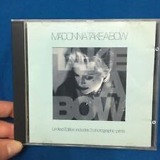 Madonna - Take a Bow CD Limited Edition 1994 UK