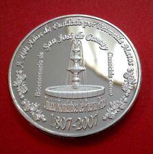 200 Años CAMUY Ciudad Romántica de Sol Taíno PUERTO RICO 1/200 Silver Plata 2007