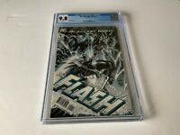 BLACKEST NIGHT FLASH 1 CGC 9.8 WHITE PAGES COOL COVER DC COMICS 2010