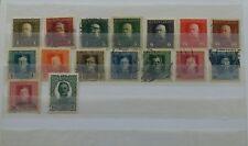 Lot Briefmarken Österreich K.u.K Feldpost  Militärpost mit Falz