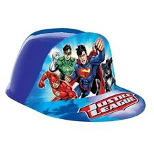 DC Comics Justice League Children's Party Plastic Party Caps Hats