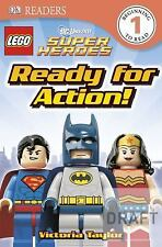 DK Readers L1: LEGO DC Super Heroes: Ready for Action! - Acceptable - Taylor, Vi