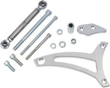 Ford 351W Alternator Bracket Kit for V-Belt Mid Mount SBF Chrome