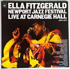 ELLA FITZGERALD NEWPORT JAZZ FESTIVAL LIVE CARNEGIE HALL 2LP 180g PURE PLEASURE