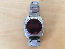 Used - Vintage Steel Digital Watch Reloj - NOT WORKING NO FUNCIONA - For spare