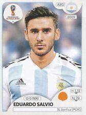 286 EDUARDO SALVIO ARGENTINA SL.BENFICA STICKER WORLD CUP RUSSIA 2018 PANINI