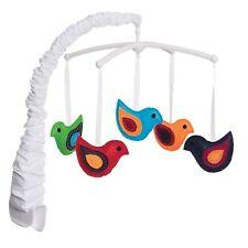 Nib Halo Whimsical Birds Bassinest Swivel Sleeper Bassinet Mobile Nursery Baby