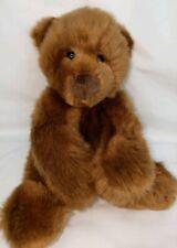 "Schatzi Gund Brown Bear Plush 9"" 15021 Super Soft Euc"