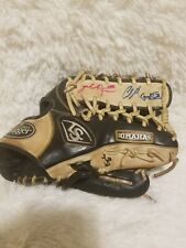 Louisville Slugger Omaha Pro Series Baseball Glove 12 3/4� Used left hand