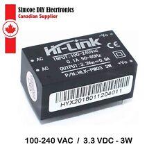Hi-link AC-DC Converter 100-240VAC to 3.3VDC  3W Power Supply PCB Mount #557