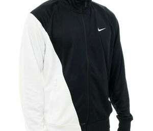 Nike Swoosh Men's Jacket Black White M