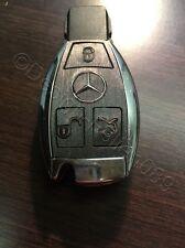 Brushed Anthrazit Folie Dekor Schlüssel Mercedes C E AMG Brabus W204 CLK W209  W