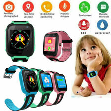 Kids Anti-lost Baby Safe GPS Tracker SOS Call GSM Smart Watch For Android IOS pw