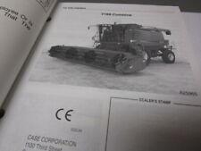 Case Ih 2188 Axial Flow Combine Operators Manual