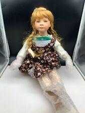 Heidi Plusczok Künstlerpuppe Porzellan Puppe 70 cm. Top Zustand