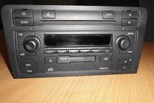 AUDI A3 8P Autoradio Symphony CD-Radio CD Wechsler Mit Code 8P0035195