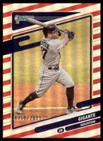 2021 Donruss Baseball Variations Red #202 Jose Altuve - Houston Astros /2021