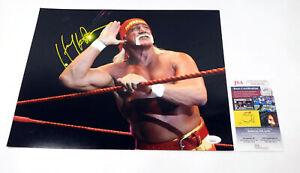 Hulk Hogan Signed 11 x 14 Color Photo JSA Auto DA042092