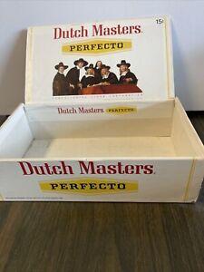 Cigar Box Vintage-Dutch Masters Perfectos Empty Cigar Box