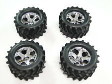 NEW TRAXXAS STAMPEDE 4X4 Wheels & Tires Set RS21