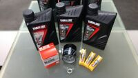 Yamaha XSR900 Service Kit Oil Filter 5GH-13440 Spark plugs CPR9EA9 Yamalube oil