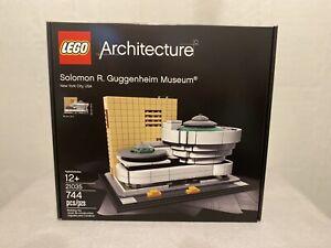 LEGO Architecture Solomon R. Guggenheim Museum 21035 Brand New Sealed Retired