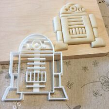 Star Wars R2D2 Cookie Cutter - Fondant Cake Cupcake Topper Mold Starwars R2 D2