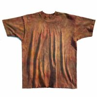 Vtg Thrashed Distressed Faded Blank Single Stitch Fruit of the Loom T-Shirt XL