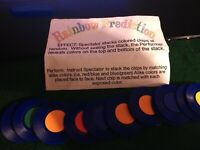 Rainbow Prediction Poker Chips Magic Trick Exclusively Chorkill Keep Tricks