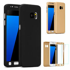 360 Full Protective Case Cover With Screen Protector For Various Samsung Galaxy