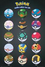 Pokemon Poke Sfere Maxi Poster Nuovissimo ufficiale