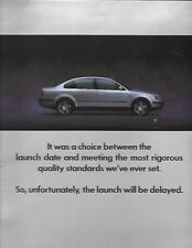 VW VOLKSWAGEN PASSAT VERY OVERSIZED PORTFOLIO  BROCHURE NOVEMBER 1996 FOR 1997