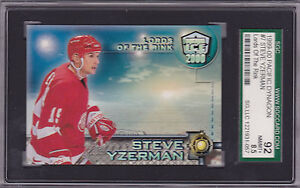 1999/00 Steve Yzerman Dynagon Lord of the Rink NMT/MNT+ BV$30