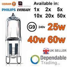 sacs de marque G9 Lampes Halogènes 25W/40w/60w Capsule Transparente Ampoule 240v