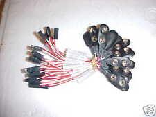 (Qty of 25) 9V battery straps for printed ckt boards