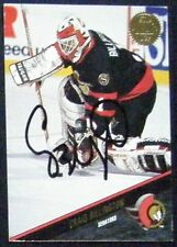 Craig Billington Ottawa Senators 1993-94 Leaf Signed Card