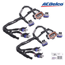 Set of 2 AcDelco Ignition Coil Lead 355W 89017477 Wiring Harness For D585