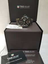 TAG HEUER AQUARACER AUTOMATIC BLACK DIAL DATE MEN'S WATCH CAY218A.FC6361 NEW