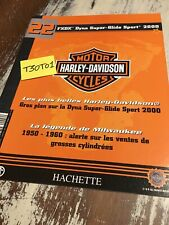 fascicule 22 Harley Davidson FXDX Dyna Super Glide Sport 2000 , Hachette