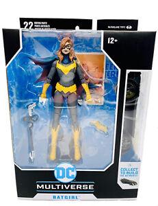 McFarlane Batgirl Action Figure DC Multiverse Modern Art Of The Crime Batman Toy