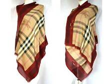 Burberry lujo Haymarket XXL bufanda PAÑUELO scarf estola con cachemira PVP € 429 190x70