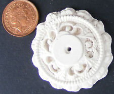 1:12 Scale 4.1cm Diameter Ceiling Rose Dolls House Miniature DIY Accessory B5